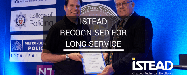 Istead Recognised for Long Service