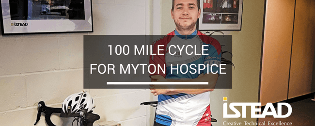 100 Mile Cycle for Myton Hospice
