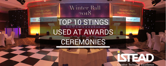 Top 10 Stings Used at Awards Ceremonies