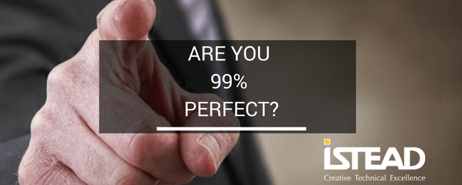 Are You 99% Perfect?