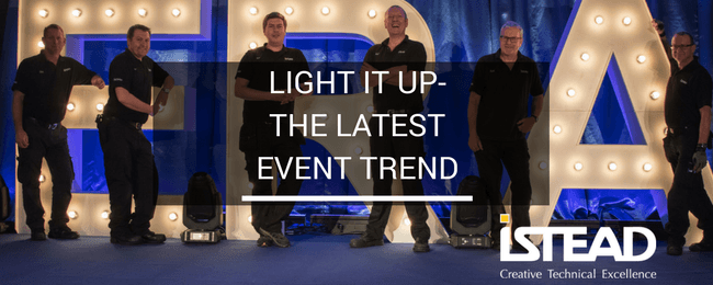Light It Up- The Latest Event Trend