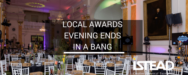 Local Awards Evening Ends in a Bang