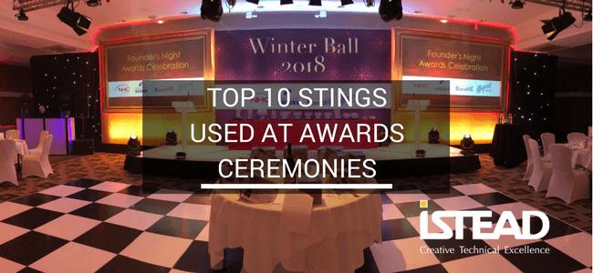 Awards Stings, Audio Visual, AV Company