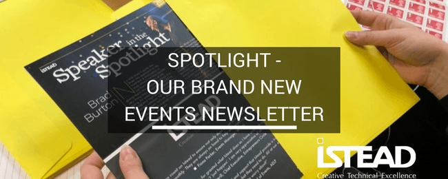 Spotlight – Our Brand New Events Newsletter